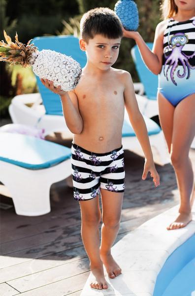 Пляжные шорты для мальчиков Viva Viktoriya 0135 122 Полосатый Viva Viktoriya 0135