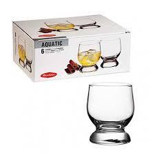 AQUATIC Стакан для виски, 225 мл (h=90мм,d=68х65м) 42973