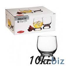 AQUATIC Стакан для виски, 225 мл (h=90мм,d=68х65м) 42973 купить в Херсоне - Стаканы