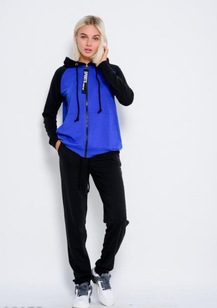 Фото  Спортивные костюмы ISSA PLUS 10175  M черный/синий