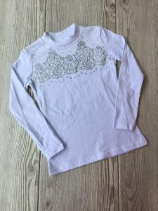 Фото Школа Стильная кофта-блуза 116/152 см