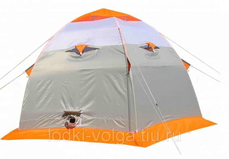 Зимняя палатка Лотос 3 (оранжевый)