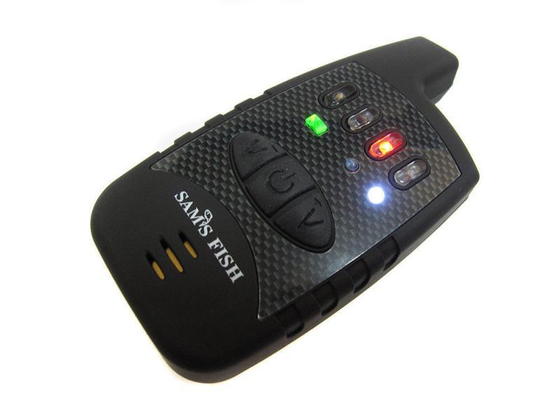 Фото Подставки для удилищ и Сигнализаторы, Сигнализаторы Набор сигнализаторов 4+1 пейджер SAMS FISH в кейсе1