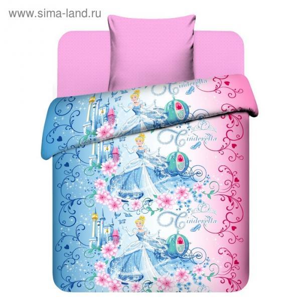 Детское постельное бельё 1,5 сп. «Прекрасная Золушка»