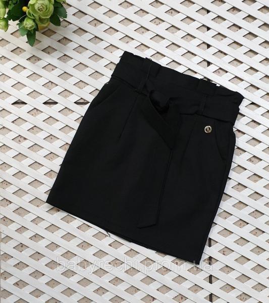 Красивая юбка для девочки с завышенной талией (21-25 р. ) 25