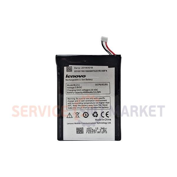 Аккумуляторная батарея BL211 Li-ion для телефона Lenovo 4000mAh