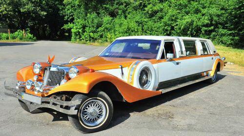 Лимузин Excalibur карамельный
