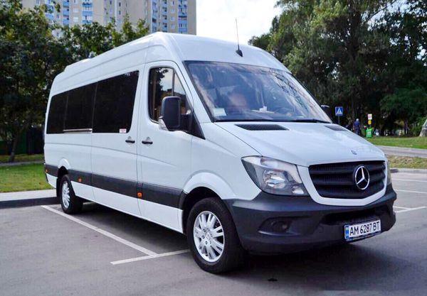 Микроавтобус Mercedes Sprinter прокат