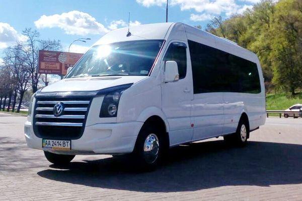 Микроавтобус 20 мест Volkswagen Crafter