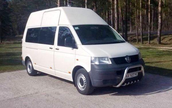 Микроавтобус Volkswagen T5 на 10 мест аренда