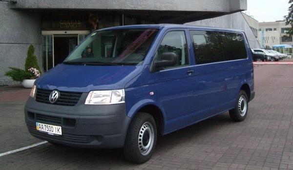 Микроавтобус Volkswagen T5 Caravelle прокат