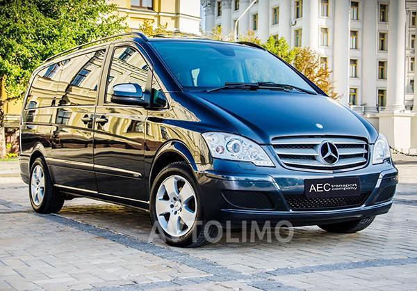 Микроавтобус Mercedes Viano прокат