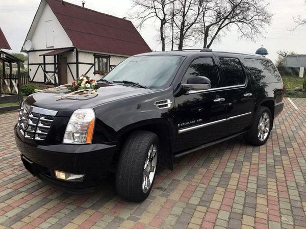 Внедорожник Cadillac Escalade черный аренда