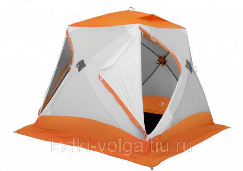 Зимняя палатка Лотос Куб 3 Классик С9 (оранжевый)