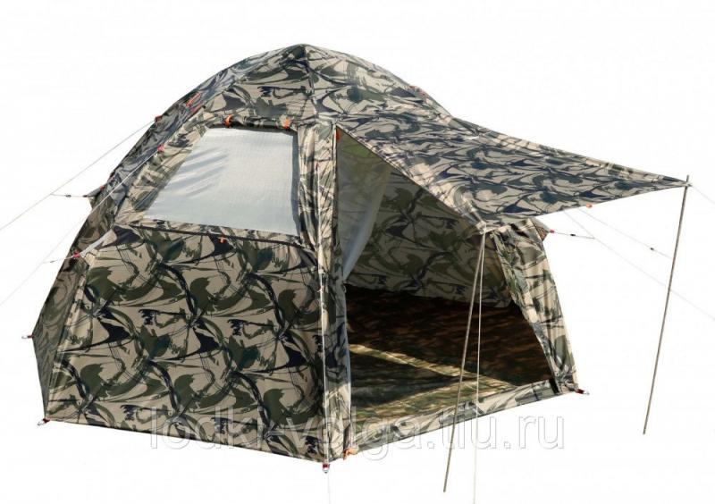 Летняя палатка ЛОТОС 5 Мансарда (модель 2019)