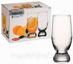 AQUATIC Высокий стакан, 265 мл (h=148мм,d=55х53мм) 42978