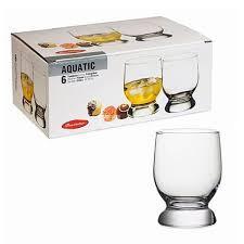 AQUATIC Стакан для виски, 310 мл (h=105мм,d=73х68мм 42975