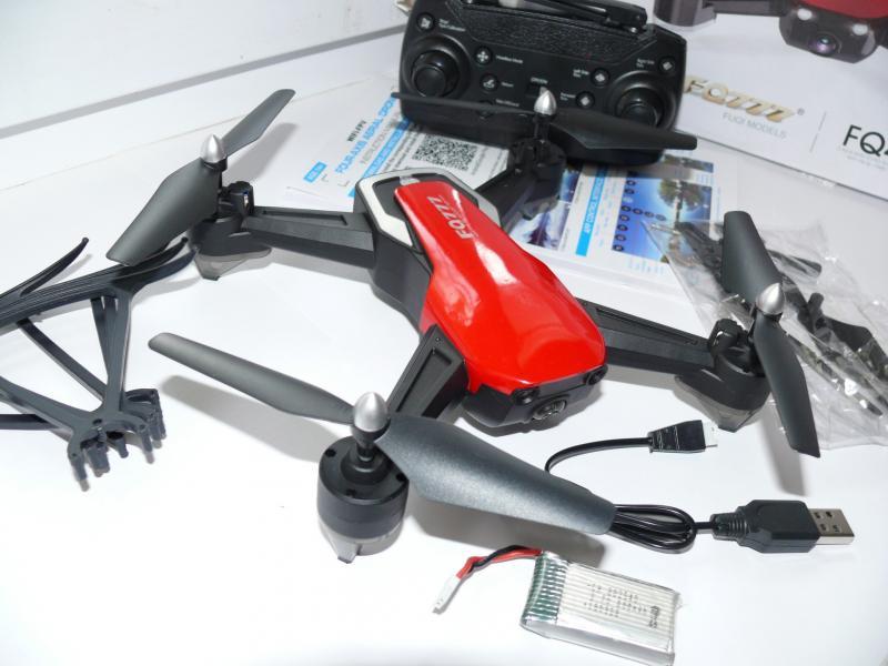 Квадрокоптер FQ777-FQ40 с камерой WiFi, автовозвратом и удержанием высоты, 38х38 см.