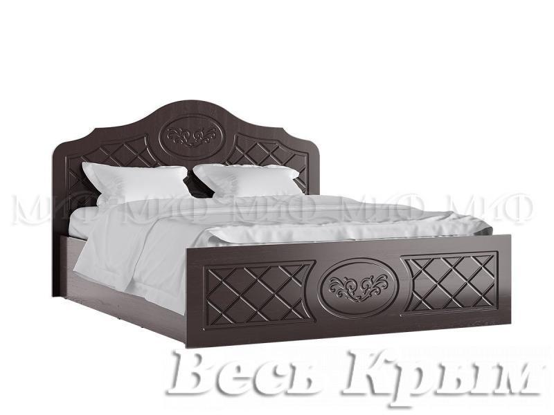 """МИФ - Мод. система """"ПРЕСТИЖ""""  Кровать 160 Кровати для спален в Крыму"""