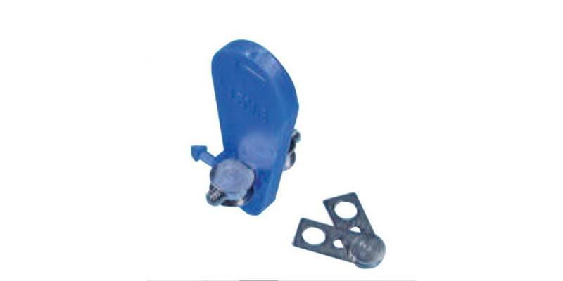 Винт Leone A0815-14 - симметричный веерообразный, двухкомпонентный для верхней челюсти