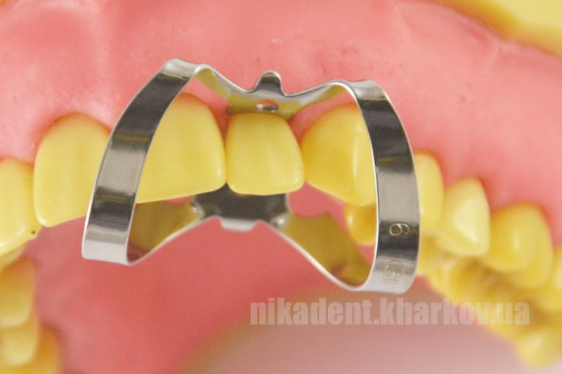 Фото Для стоматологических клиник, Ортодонтия, Винты ортодонтические Кламп «бабочка» для фронтальной группы зубов №6 (Dentech, Япония)