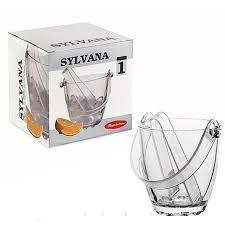SYLVANA Ведро для льда с щипцами, h=130мм,d=120х72мм 53628