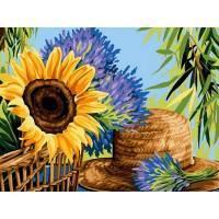 Фото Картины на холсте по номерам, Букеты, Цветы, Натюрморты VK 092