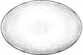 LACY Овальная тарелка, 330*257 мм 10568