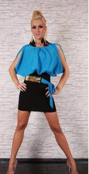 Фото Женские платья Платье  р44 разноцветное