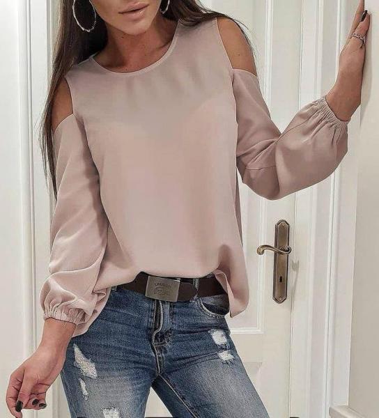 Фото Женские блузы Блуза 50р капучино
