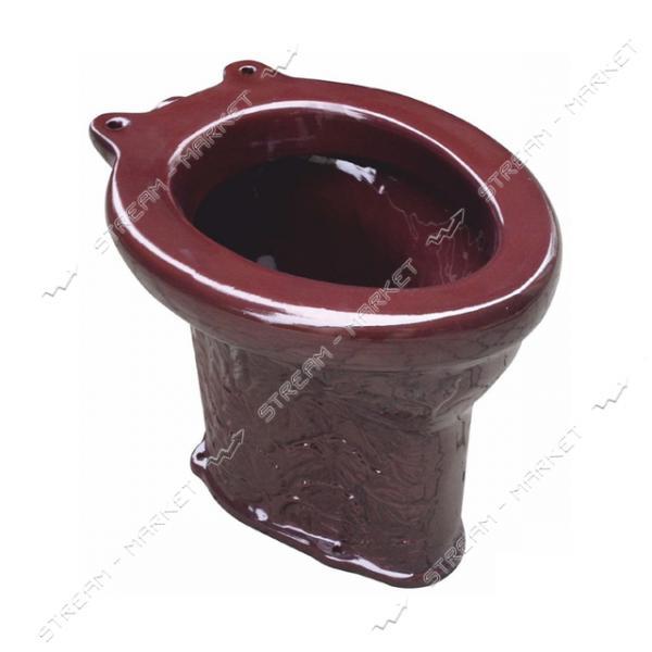 Унитаз дачный коричневый (Славянск)