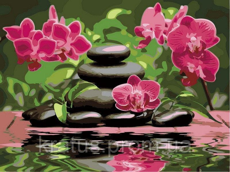 Фото Картины на холсте по номерам, Букеты, Цветы, Натюрморты VP 535