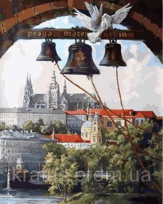 Фото Картины на холсте по номерам, Городской пейзаж VP865