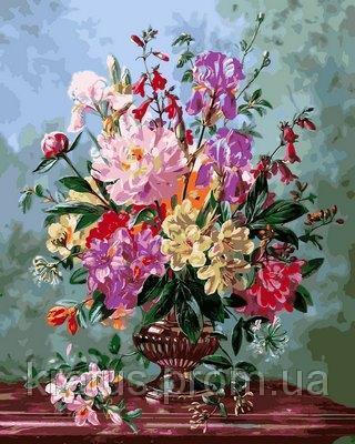 Фото Картины на холсте по номерам, Букеты, Цветы, Натюрморты VP 1060