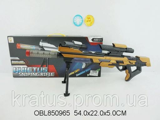 Винтовка снайперская звук, свет 2202A