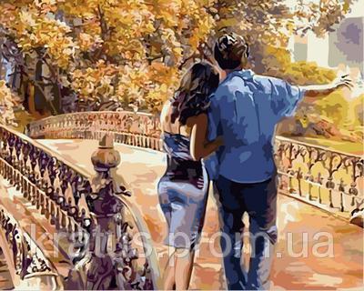 Фото Картины на холсте по номерам, Романтические картины. Люди VP 733 Роспись по номерам на холсте 40х50см