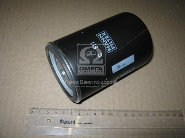 Фильтр воздушный DAF (TRUCK) (пр-во MANN C811)