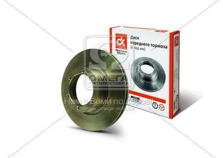 Диск тормозной ГАЗ 3302 передний d=104мм (пр-во Автореал 3302-3501078)