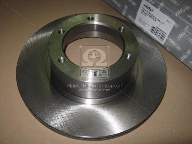 Диск тормозной ГАЗ 3302 передний d=100мм (RIDER 3302-3501078)