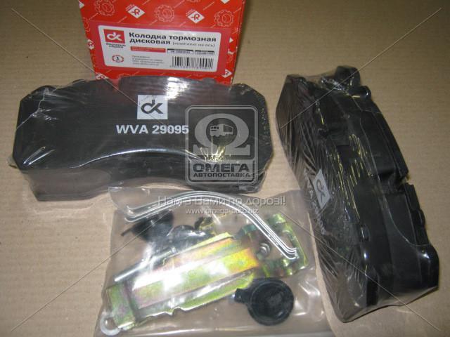 Колодка торм. диск. (компл. на ось) BPW, IVECO, MAN 2000,TGM, MB DK 29095PRO