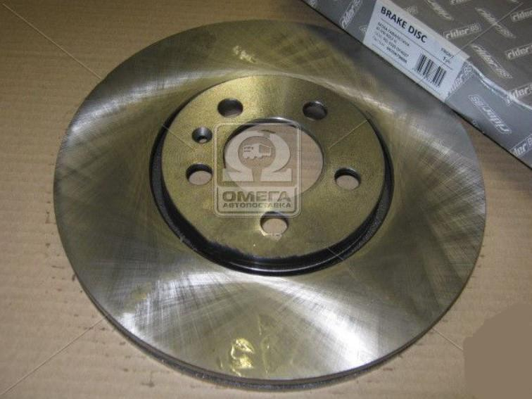 Диск тормозной SKODA FABIA/OCTAVIA 97-/VW GOLF IV задн. RD.2625.DF2805 (4635879884)