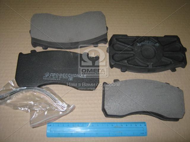 Колодка торм. ГАЗ 33104 ВАЛДАЙ передн. G-PART (покупн. ГАЗ GP3310-3501800)