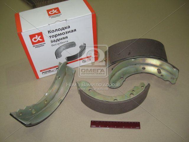 Колодка тормозная ГАЗ 3302 задняя утолщенная накладка ()