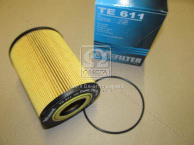 Фильтр масляный (смен.элем.) DAF (TRUCK) (пр-во M-Filter TE611)