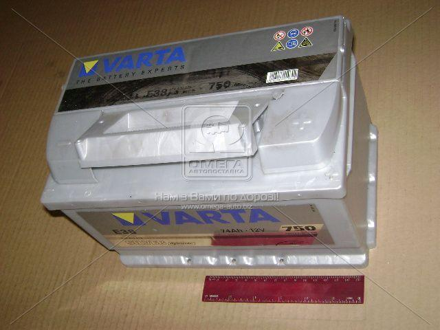 Аккумулятор 74Ah-12v VARTA SD(E38) (278x175x175),R,EN750