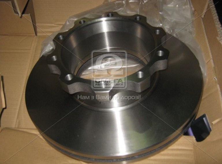 Диск тормозной MAN F2000, TGA (94-) задний (Techno Brake 960100)
