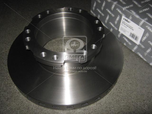 Диск тормозной ГАЗ 33104 ВАЛДАЙ передний/задний (RIDER 33104-3501078-02)