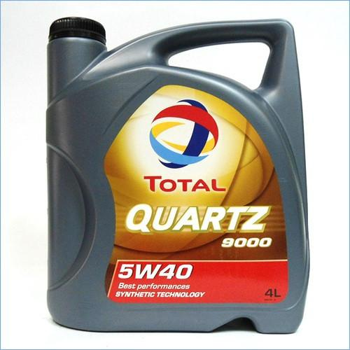 Моторное масло Total QUARTZ 9000 5W40 4L
