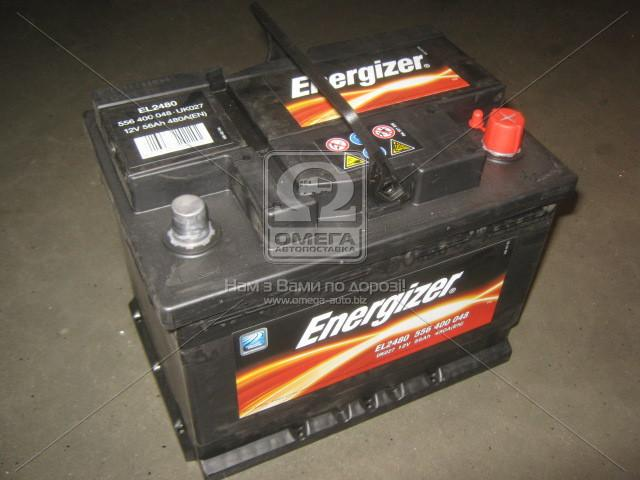 Аккумулятор 56Ah-12v Energizer (242х175х190), R,EN480