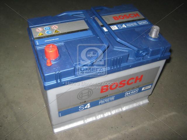Аккумулятор 70Ah-12v BOSCH (S4027) (261x175x220),L,EN630(Азия)